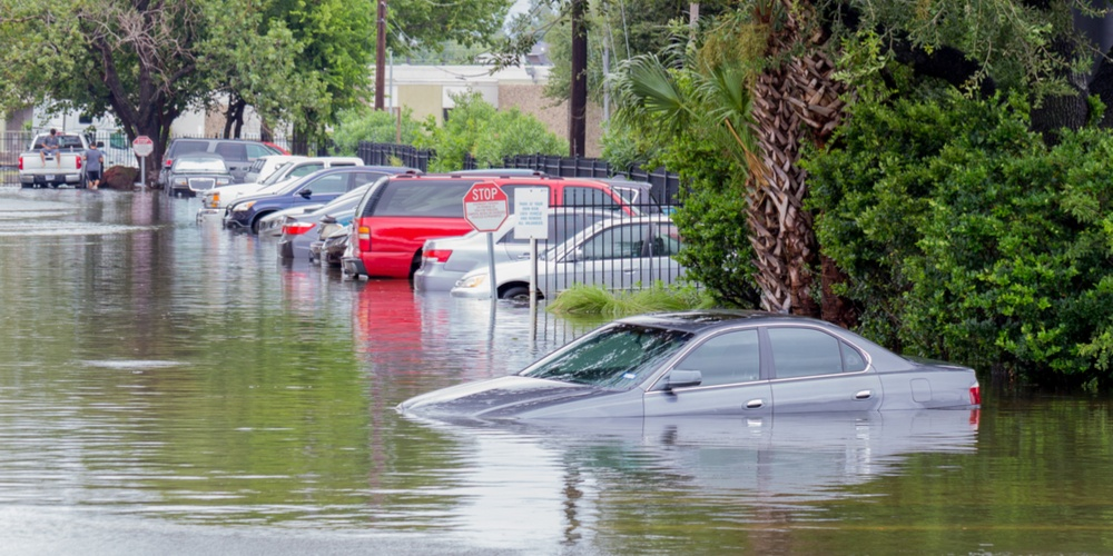 Car in Flood
